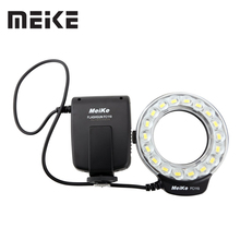 Meike FC-110 LED Macro Ring Flash Light For Canon EOS 5D Mark II III 6D 7D 50D 60D 70D 450D 550D 600D 650d 700D 1000D 1100D(China)
