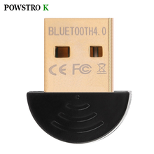 Wireless Bluetooth Adapter CSR 4.0 Bluetooth V4.0 Dual Mode Wireless Dongle Free Driver USB2.0/3.0 20m 3Mbps for PC Tables