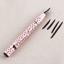 Waterproof Make Up Cosmetic Cute Tool Beauty Makeup Black Eyeliner Long-lasting Liquid Eye Liner Pencil Pen MF52
