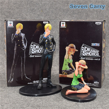 Anime One Piece Sanji Nami 9-17CM PVC Action Figures Collection Model Toys 2pcs/lot CSH6