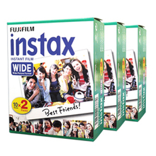Fujifilm Instax Wide Instant White Edge 60 Film For Fuji Instax Camera 100 200 210 300 500AF(Hong Kong)