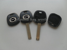 Blank Transponder Key Shell Case For Lexus (Can Install TPX1 TPX2 Chip) with TOY48 40MM Key Blade Fob Key Cover 10PCS/lot