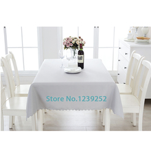 "New Polyester 63""x63""( 160 cm x 160 cm ) Table Cloth Nappe de table Wedding Tablecloth Party Table Cover Dining Table Linen"