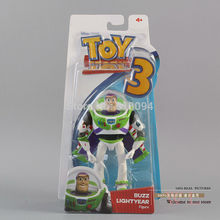 Free Shipping Toy Story 3 Buzz Lightyear with Wing PVC Action Figure Toy Christmas Gift Child Toy DSFG098(China)