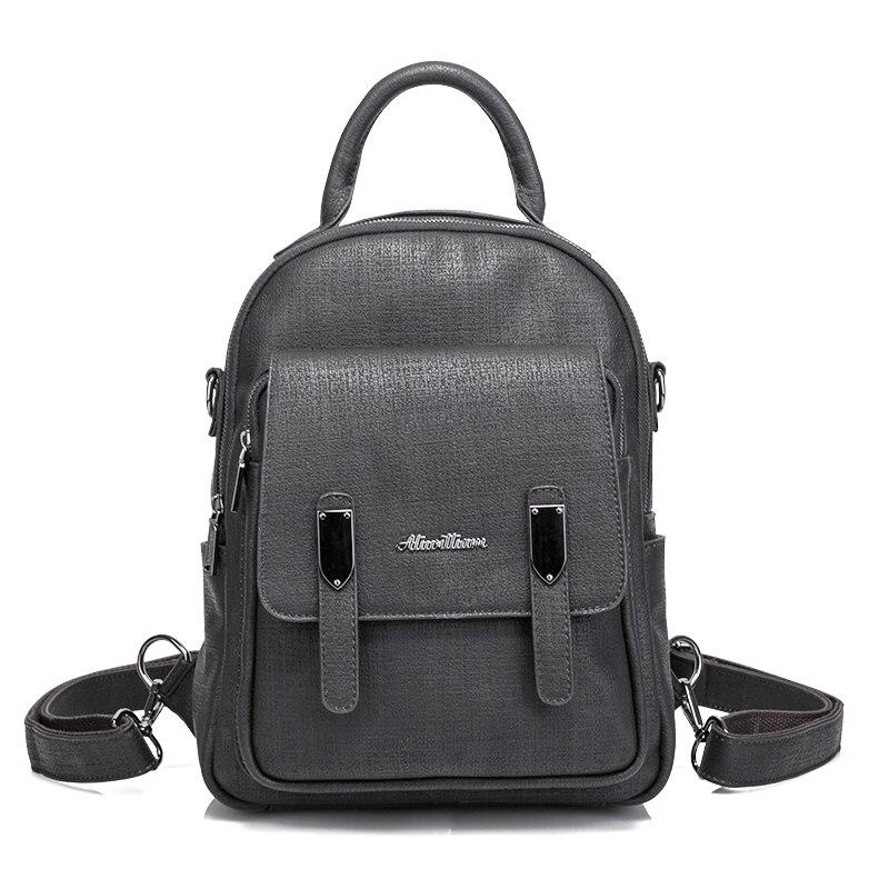 2018 Vintage Canvas Backpack Women Travel Rucksack Laptop School Bags for Teenagers Girls Mochila Shoulder Bag Female 168-190<br>