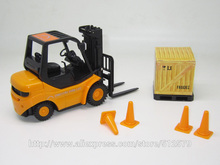 Remote Control Kingtoy 1:20 new RC mini construction mini forklift free shipping(China)