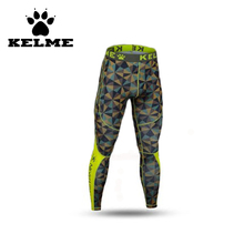 KELME Camouflage Camo Mens Compression Pants Sports Running Tights Basketball Pants Bodybuilding Male Trousers Skinny Leggings28(China)