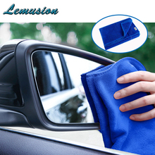 Car-styling 1Pcs Car washing towel Superfine fiber Car clean tool for Ford focus 2 3 Opel astra h j Citroen c4 c5 car acessories(China)