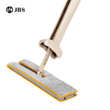 Double Sides Flat Magic  Mop Hand Push Sweepers Without Electricity Dustpans Hard Floor Lazy Vassoura Self-Wringing Mops