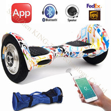 10 Inch Hoverboard Smart Wheel Balance Scooter Electric Self Balancing Scooters Samsung Battery+ Bluetooth Two hover board - ShenZhen DJ Electronic Technology Co., Ltd store