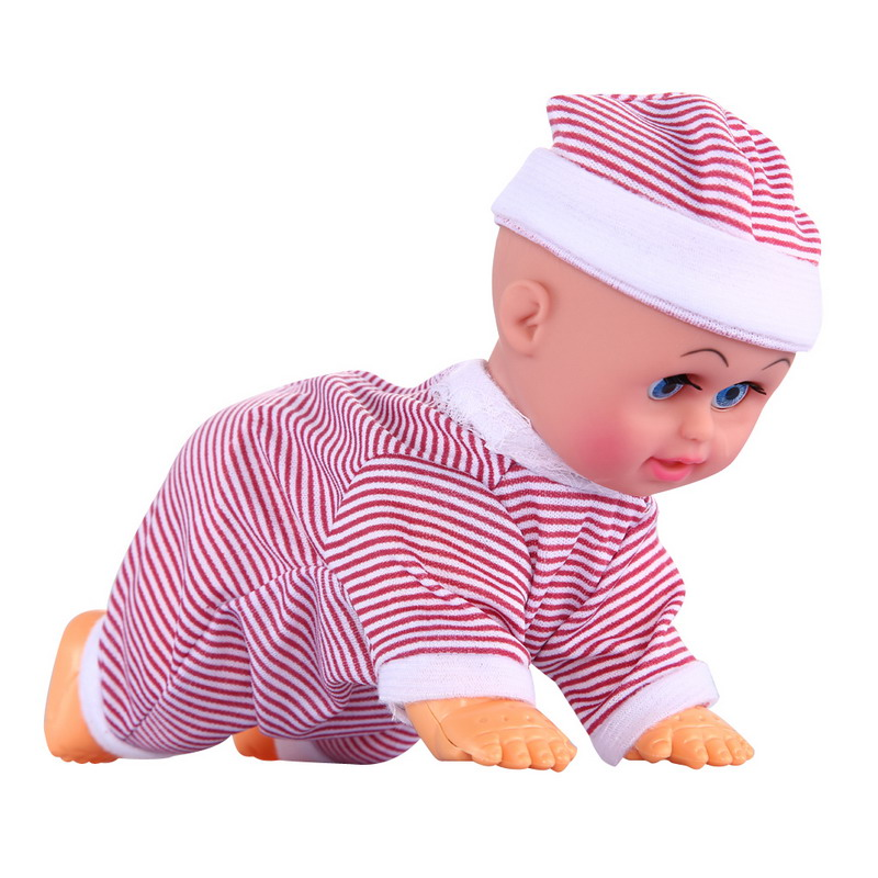 Cute Baby Doll Toy For Kids Brinquedos Clever Baby Laugh Music Dance Learn Crawl Funny Doll Toy Gift FCI#<br><br>Aliexpress