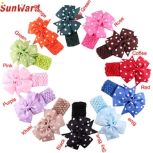 SunWard Cool beener Cute Headbands Girl's Headband  Flower Head Wear  Wave Bandeau nov21