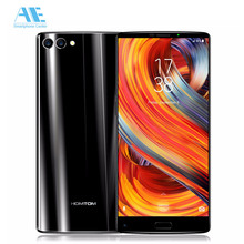 "HOMTOM S9 Plus 5.99"" Tri-bezelless 18:9 HD+ Full Display Cell phone MT6750T Octa Core 4G RAM 64G ROM Dual Back Cam Mobile Phone"