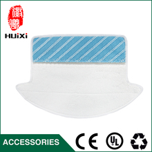 White and Blue Mop Cloth Dishrag Replacement for 800-EG 810 830 CEN82 Robotic Cleaner Accessories for Vacuum Cleaner