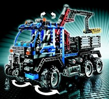 805pcs Decool Technic OFF-ROAD TRUCK Building Blocks Exploiture Crane Model Educational DIY Bricks Toy Compatible With Lego 8273