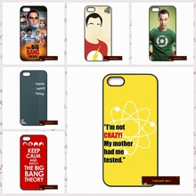 Phone Cases Cover For iPhone 4 4S 5 5S 5C SE 6 6S 7 Plus 4.7 5.5 Big Bang Theory Bazinga Case Cover   #HE1603