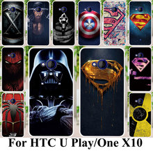 Phone Case For HTC U Play Alpine One X10 E66 Housing Cover Plastic Shock-Proof Superman Case Bag Coque For HTC One X10 E66 Cover