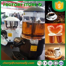 Commercial hot chocolate heating soybean milk juice water drinking serve machine dispenser drink machine