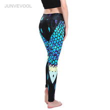 Buy Sexy Flower Leggings Women Fitness Dancing Legging Breathable Gothic Pants Punk Rock Mujer Legins Push Femme Workout Leggings for $12.27 in AliExpress store