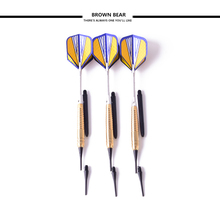 18g Soft Tip Darts Professional Copper Steel Darts Needle Electronic Dart Safty Game For Dart Board 3 pieces/set(China)