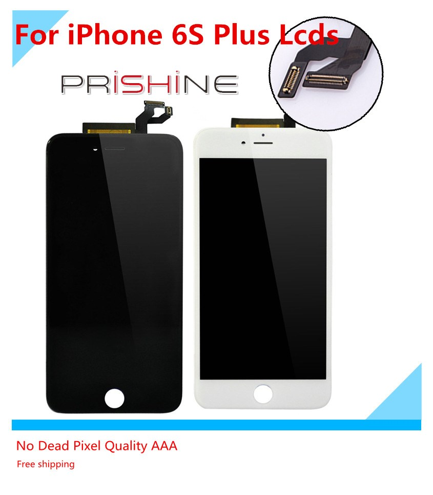 Ecran For iPhone 6s Plus LCD display Pantalla Full Assembly with Screen Replacement Lens Black WhiteScreen Replacement<br><br>Aliexpress