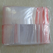 HGHO-200PCS 5X7CM Zip Lock Bags Clear Poly Bag Reclosable Plastic Small Baggies Gift Candies Packing Bags