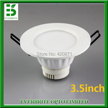 SMD LED Recessed Downlight 2.5 inch Fog-proof 4W Cut Out 80mm 480lm Warm/Cold white for Home Household Business Lighting