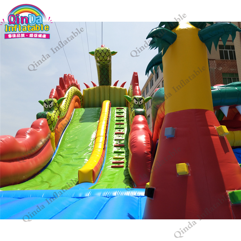 inflatable bounce obstacle adult79