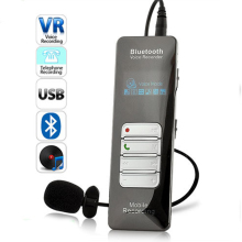 Professional Grade 8GB Wireless Bluetooth Voice & Call Recorder for Mobile Cellphone USB Digital Voice Recorder Mp3 Player(China)