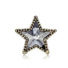 Star Brooch - Hot Sale Fashion Pins  Women 's Pin  Mini - Five - Pointed Star Crystal Brooches Shirt Suit Star Collar #1786563