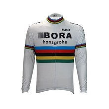 winter fleece 2017 pro tour team bora cycling jersey long sleeve warmer bike cloth MTB Ropa Ciclismo Bicycle maillot only