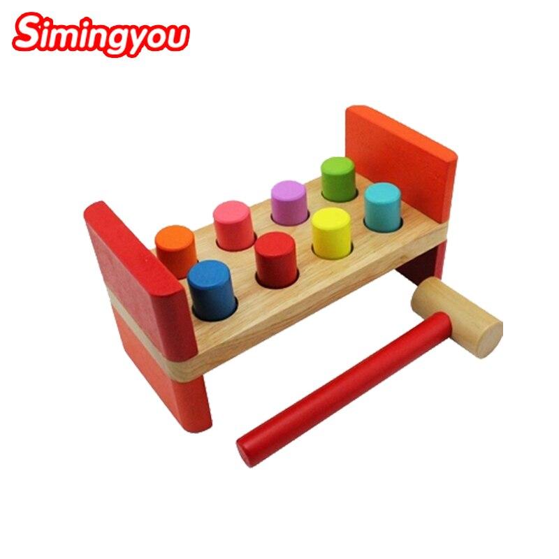 Simingyou Montessori Wooden Block Montessori Educational Toy Noise Maker Children Wooden Kids Toys JQD1<br><br>Aliexpress