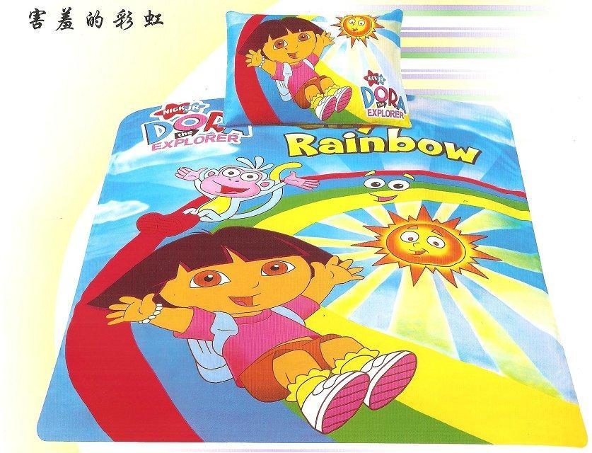 Rainbow Dora The Explorer Bedding Bedlinen Set 39 S Bedspreads Single Twin Size