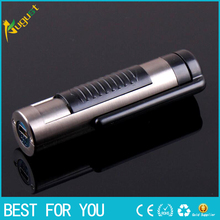 50pcs/lot Electronic cigarette lighter Vehicle mounted multifunctional USB shaver USB lighter with razor charging shaver(China)