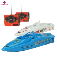 Buy MUQGEW Remote Control Toys 2.4GHz 4 Channel Water Cooling High Speed Racing RC Boats gift children Toys Kids Gift for $12.38 in AliExpress store