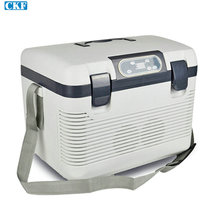Free DHL Fedex 1pcs/lot Liter Portable Car Cooler Fridge Car Refrigerator Travel Warmer Family mini refrigerator