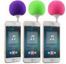 2017 Mobile audio Portable Mini 3.5mm Wired Speaker Sponge Ball Speaker Audio Receiver for iphone 7 7 plus smartphone