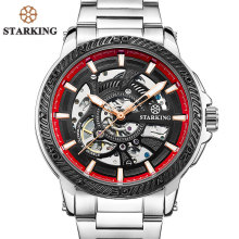 STARKING Top Brand Men's Automatic Watch Fashion Modern Design Skeleton Mechanical Wristwatch Male Outdoor Sport Watches TM0901(China)