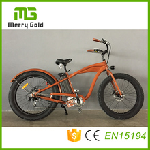 26 inch 48V 500Watt Fat Tire Electric Bike Electric Mountain Bicycle Merry Gold Hummer 2.0 Electric Bike