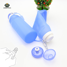 Buy DXBQYYXGS 600ML Creative Foldable Silicone Drink Sport Water bottle foot Climbing Camping Travel Water Bottle Bicycle Bottle for $16.48 in AliExpress store