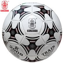 Train Football Soccer Ball Size 5 High Quality PU Indoor Outdoor Sports Training Manually Stitched For Children Kids Adult