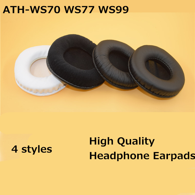 LEORY 1 Pair Headphone Earpads Cushion for Audio Technica ATH WS70 WS77 WS99 for SONY MDRV500DJ MDR-V55 MDR-7502 Headphones(China)
