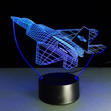 Creative Gifts Battleplan Lamp 3D Night Light Robot USB Led Table Desk Lampara As Home Decor Bedroom Reading Nightlight