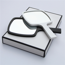High quality lady small cosmetic mirror Handbag Mirror female cosmetic mirror dressing table mirror