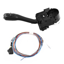 Cruise Switch Cruise Control System Stalk Switch & Harness For VW Golf/GTI MK4 Jetta Passat B5 18G-953-513-A Hot