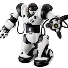 rc Robot TT323 Action Figure Toy remote control Electric RC Robots child learning educational robot toys classic toy kid gifts(China)