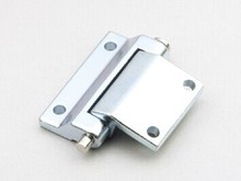 Cast steel hinge open 120 degrees casting steel hinge sandblasting nickel heavy hinged large industrial hinge(China)