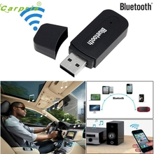 New Arrival 3.5mm Car Wireless USB Bluetooth Aux Audio Stereo Music Speaker Receiver Adapter Dongle+Mic For PC mr28(China)
