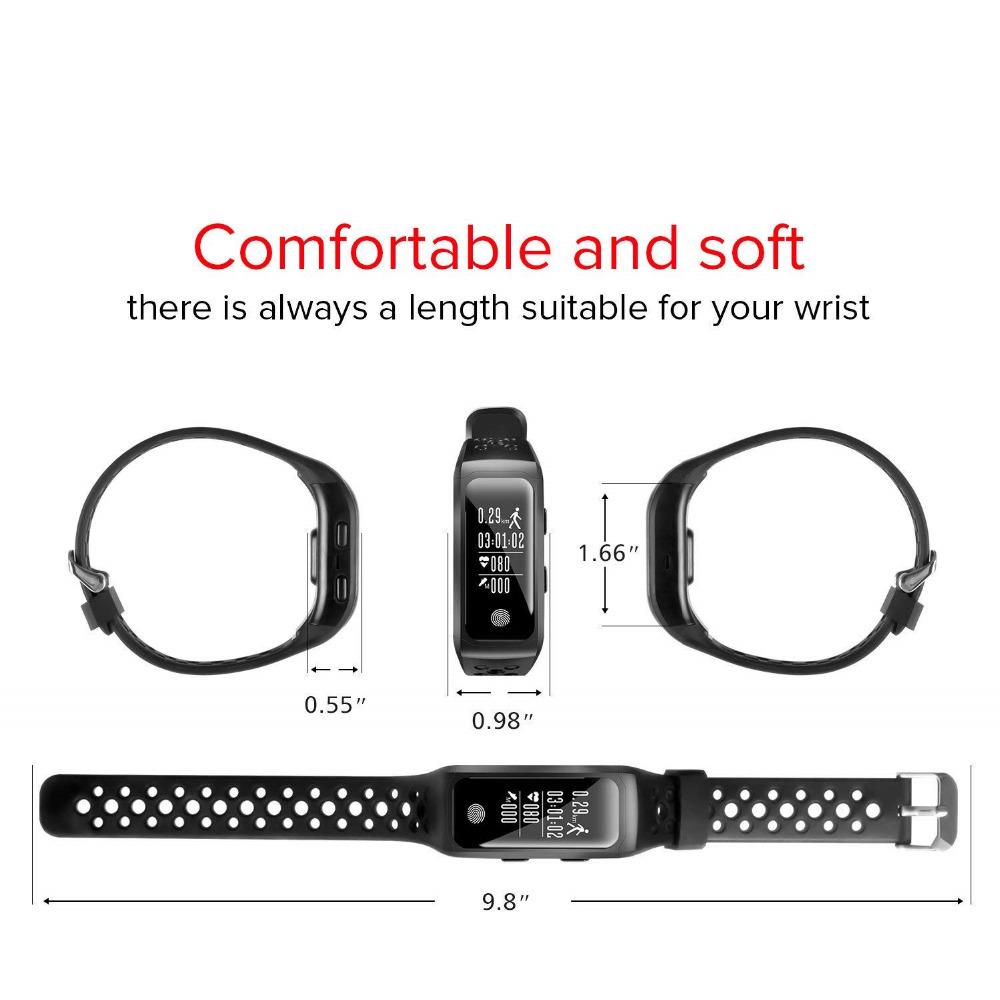 Smartwatch GPS IP68 Waterproof Wristband (13)