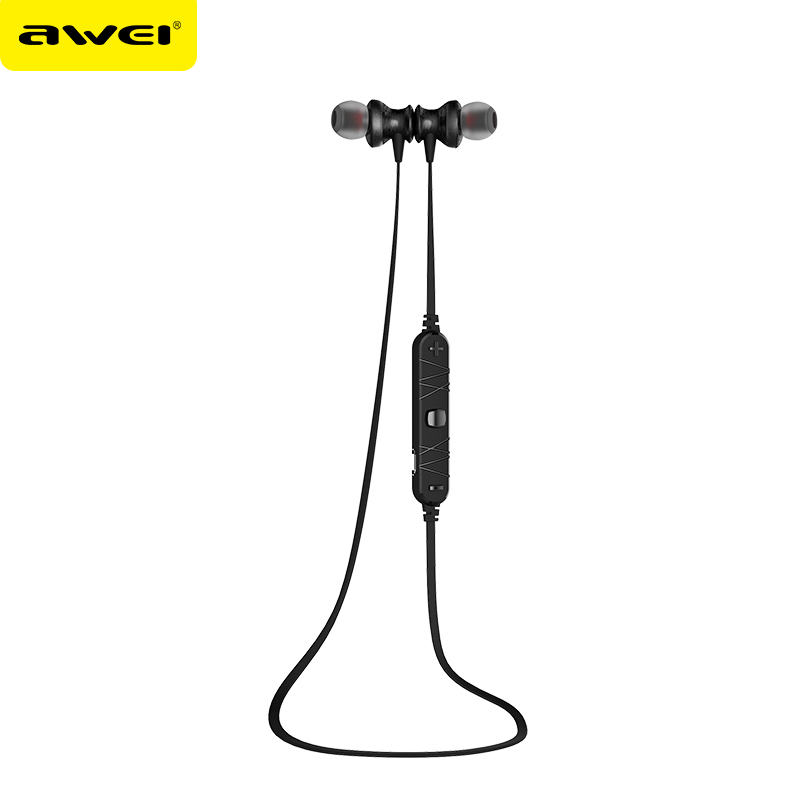 AB19315/17 Awei A980BL Wireless Bluetooth Earphones Sweatproof Magnetic Headset With Microphone Hands Free Earphone<br><br>Aliexpress
